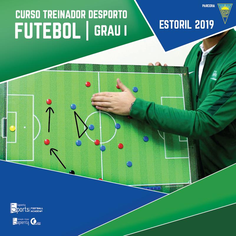 Curso Treinador Desporto | Futebol - Grau I Estoril 2019