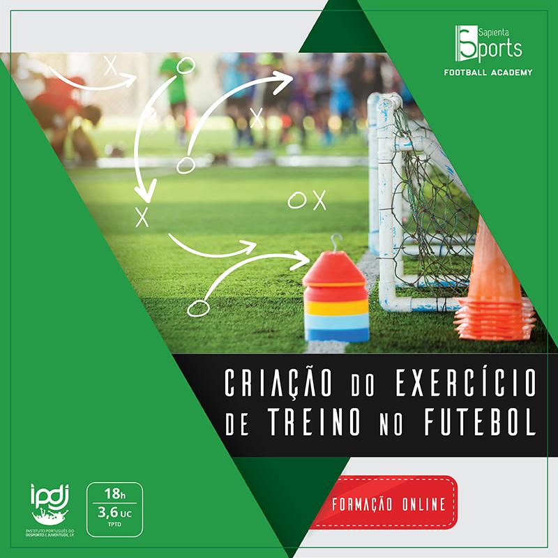 Criação do Exercício de Treino no Futebol