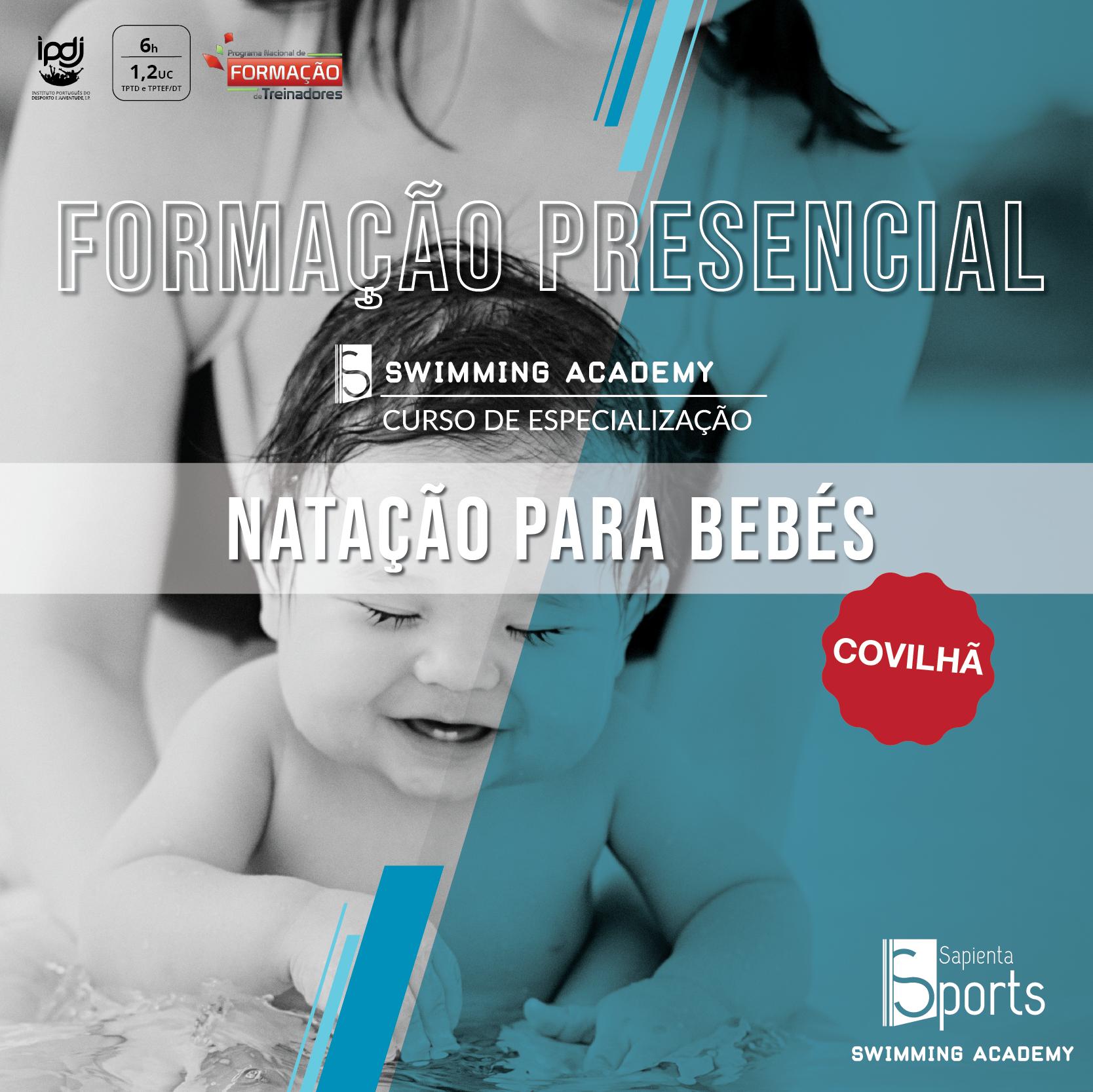 Curso de Especialização em Natação para Bebés